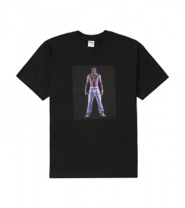 Футболка Supreme Tupac Hologram Black
