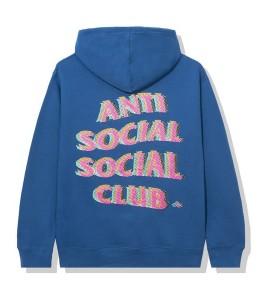 Худи Anti Social Social Club Stir Crazy Blue
