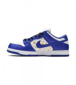 Кроссовки Nike Supreme x Dunk Low OG SB QS 'Hyper Royal' - Фото №2
