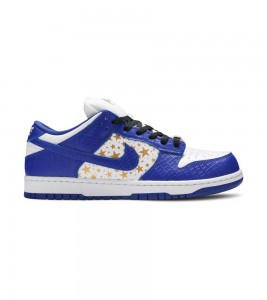 Кроссовки Nike Supreme x Dunk Low OG SB QS 'Hyper Royal'