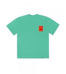 Футболка Travis Scott x McDonald's Action Figure Series IV Teal - Фото №2