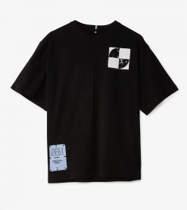 Футболка MCQ RAVE POSTERS RELAXED TEE