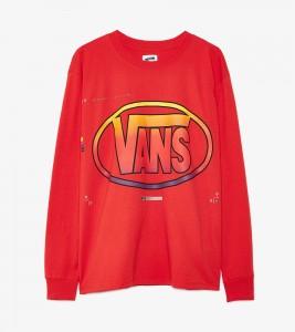 Футболка Vans Vault Long Sleeve x LQQK Studio