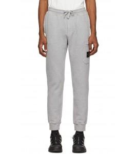 Штаны Stone Island Fleece Cotton Pants Grey - Фото №2