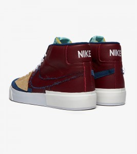 Кроссовки Nike SB Zoom Blazer Mid Edge Low - Фото №2