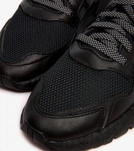 Кроссовки adidas Nite Jogger 'Triple Black' - Фото №2