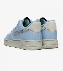 "Кроссовки Nike Women's Air Force 1 ""Light Armory Blue"" - Фото №2"