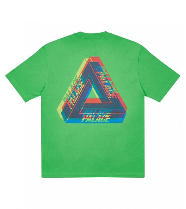 Футболка Palace Tri-Ferg Colour Blur T-Shirt Light Lime