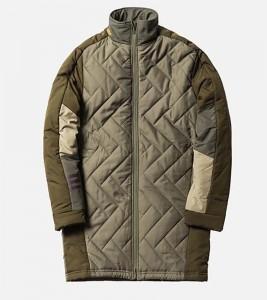 Куртка Adidas * KITH Rays Soccer Primaloft Khaki