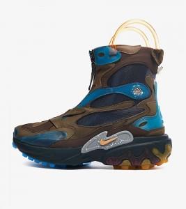 Ботинки Undercover x Nike React Boot Brown