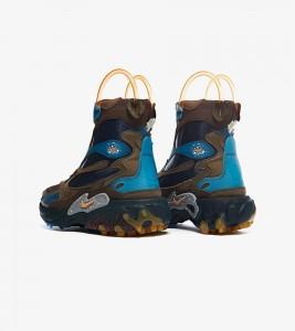 Ботинки Undercover x Nike React Boot Brown - Фото №2