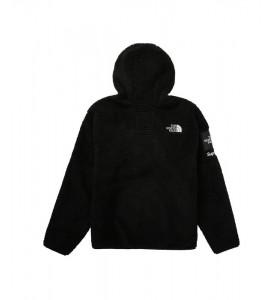 Куртка Supreme х The North Face S Logo Fleece Jacket Black - Фото №2