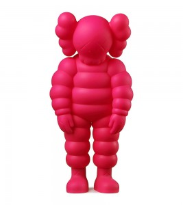 KAWS What Party Figure Pink 28 см