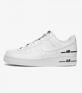Кроссовки Nike Air Force 1 Double White Black