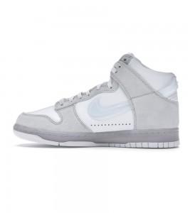 Кроссовки Nike Dunk High Slam Jam White Pure Platinum - Фото №2