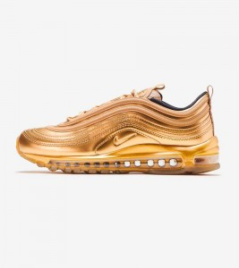 Кроссовки Nike Air Max 97 QS Gold Metal