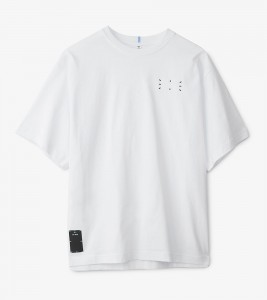 Футболка MCQ JACK BRANDED RELAXED TEE