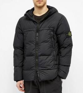 Куртка Stone Island Crinkle Reps Jacket Black - Фото №2