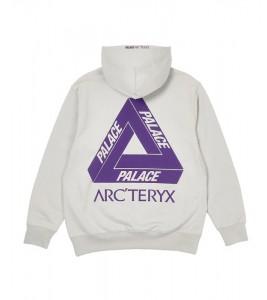 Худи Palace Arc'Teryx Hood Grey