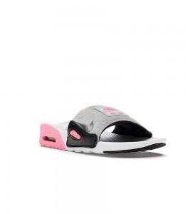 Кроссовки Nike Air Max 90 Slide White Rose Cool Grey (W) - Фото №2