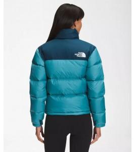 Куртка The North Face 1996 Retro Nuptse Monterey Blue WMNS - Фото №2