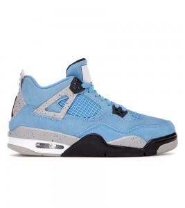 Кроссовки Jordan 4 Retro University Blue (GS)