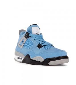 Кроссовки Jordan 4 Retro University Blue (GS) - Фото №2