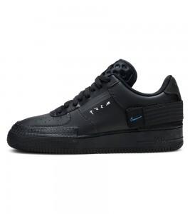 Кроссовки Nike Air Force 1 Type Black Royal
