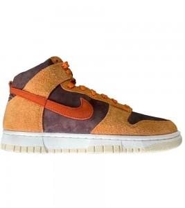 Кроссовки Nike Dunk High PRM Dark Russet