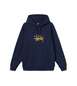 Худи Stussy Basic Embroidered Hood