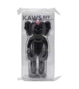 KAWS BFF Open Edition Vinyl Figure Black 33 Cм - Фото №2