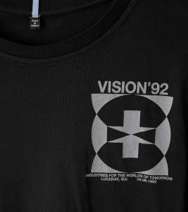 Футболка MCQ MUTUAL TRUST VISION92 REGULAR TEE - Фото №2