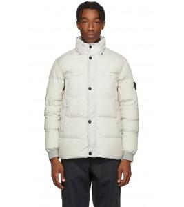 Куртка Stone Island Crinkle Reps Jacket White