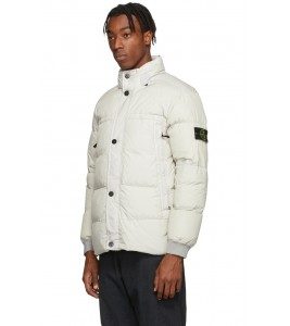 Куртка Stone Island Crinkle Reps Jacket White - Фото №2