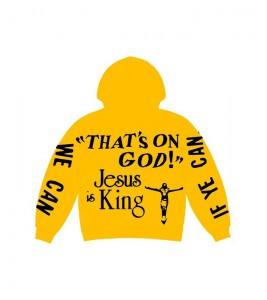 Худи Kanye West CPFM for JIK Yellow - Фото №2