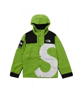 Куртка Supreme х The North Face S Logo Mountain Jacket Lime