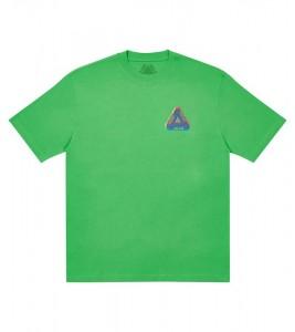 Футболка Palace Tri-Ferg Colour Blur T-Shirt Light Lime - Фото №2