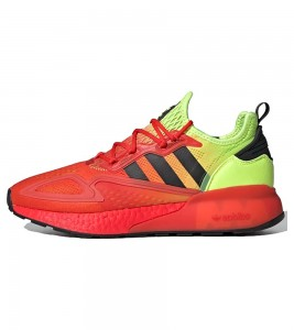 Кроссовки adidas ZX 2K Boost Yellow / Red