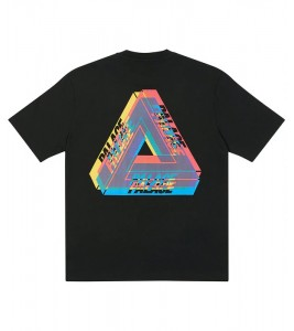Футболка Palace Tri-Ferg Colour Blur T-Shirt Black