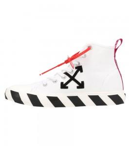 Кроссовки Off-White Vulc Sneaker Mid 'White Black'
