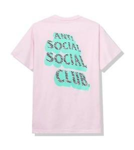 Футболка Anti Social Social Club Facade Pink