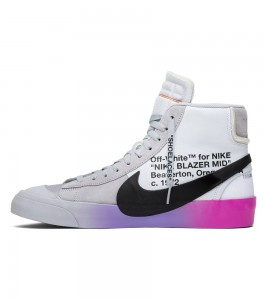 Кроссовки Off-White x Nike Blazer Studio Mid Queen - Фото №2