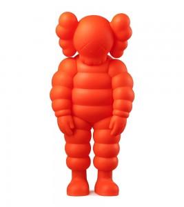 KAWS What Party Figure Orange 28 см