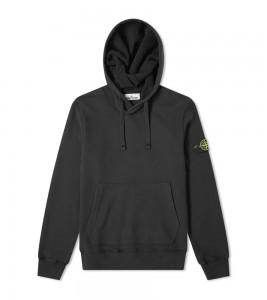 Худи Stone Island Garment-Dyed Hoodie Black