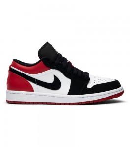Кроссовки Air Jordan 1 Low Black Toe