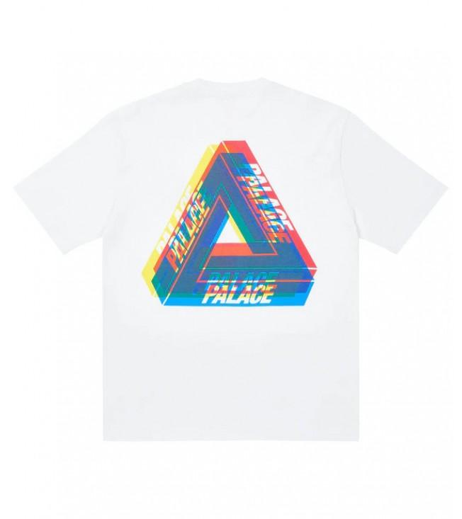 Футболка Palace Tri-Ferg Colour Blur T-Shirt White