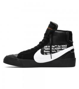 Кроссовки Off-White x Nike Blazer Mid Grim Reapers - Фото №2