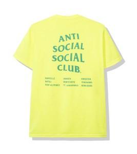 Футболка Anti Social Social Club Med Neon Green