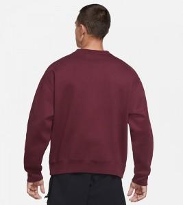 Свитшот Nike ACG Fleece Sweatshirt Maroon - Фото №2