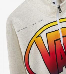 Худи Vans Vault Quarter Zip Sweatshirt x LQQK Studio - Фото №2